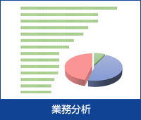 業務抽出の結果分析